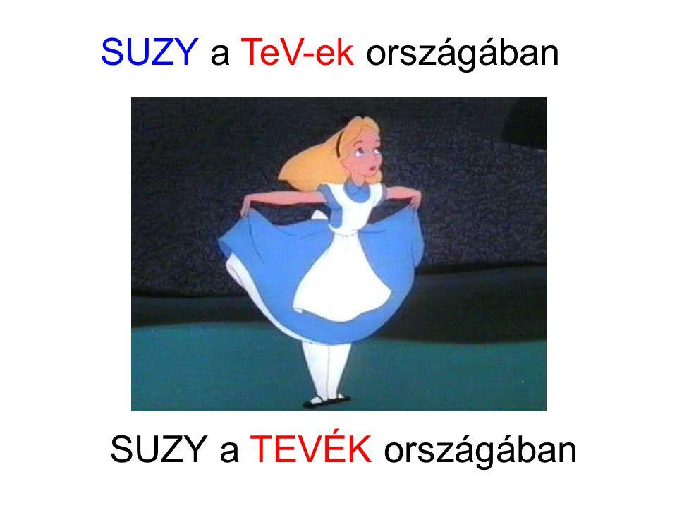 SUZY a TeV-ek országában SUZY a TEVÉK országában