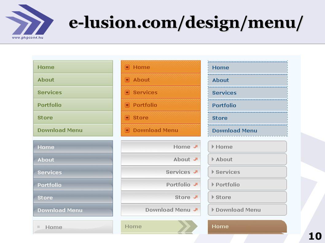 10 3 e-lusion.com/design/menu/