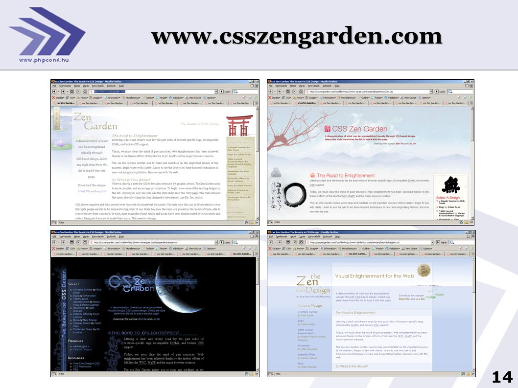 14 www.csszengarden.com
