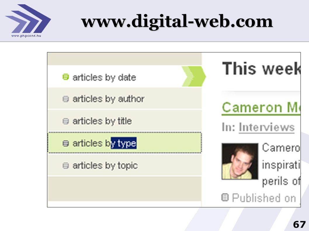 67 www.digital-web.com