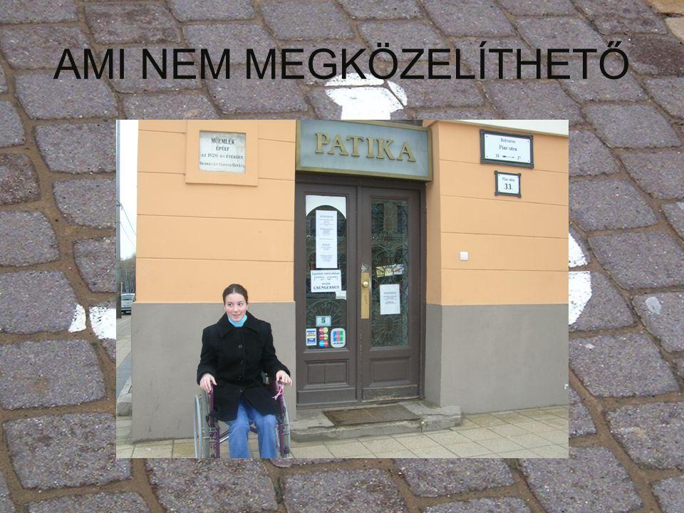 AMI NEM MEGKÖZELÍTHETŐ