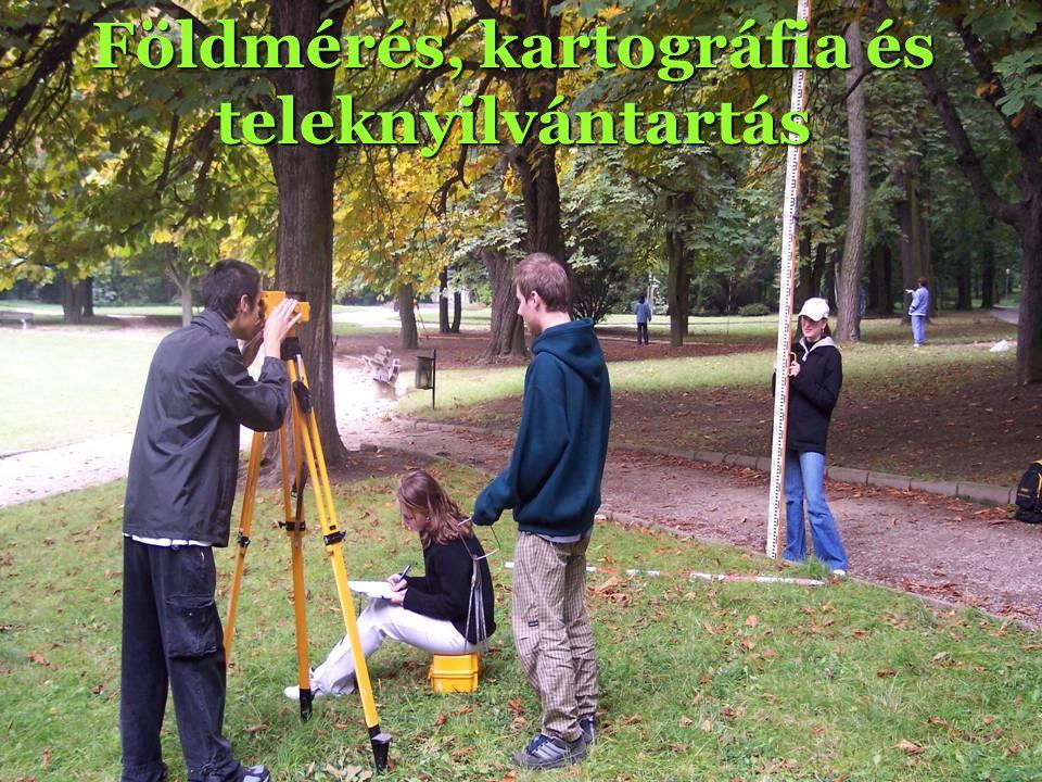 Földmérés, kartográfia és teleknyilvántartás