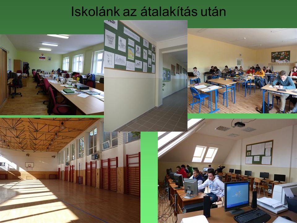 Iskolánk az átalakítás után