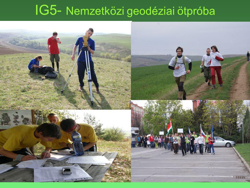 IG5- Nemzetközi geodéziai ötpróba
