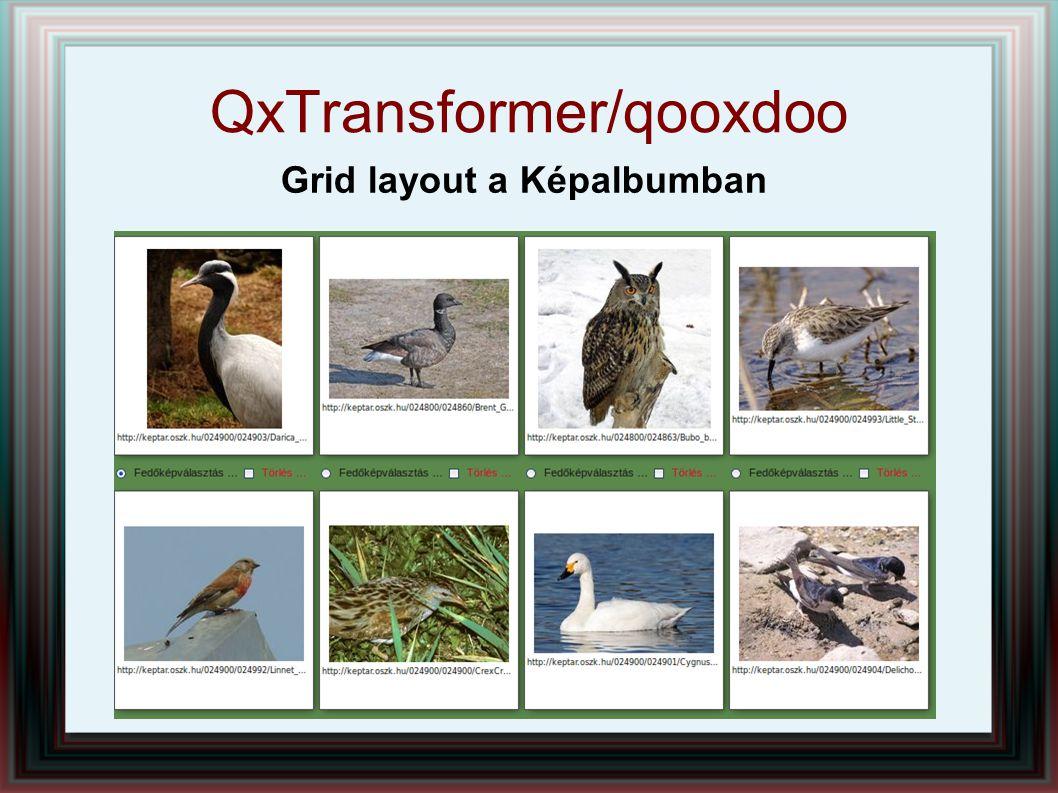 QxTransformer/qooxdoo Grid layout a Képalbumban