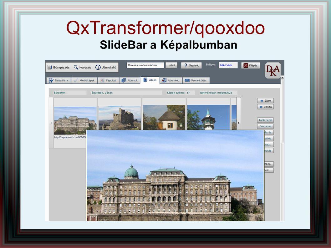 QxTransformer/qooxdoo SlideBar a Képalbumban