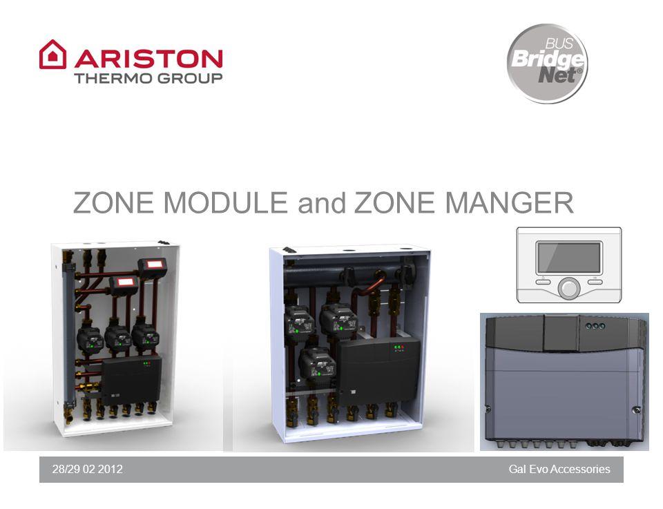 28/29 02 2012Gal Evo Accessories ZONE MODULE and ZONE MANGER