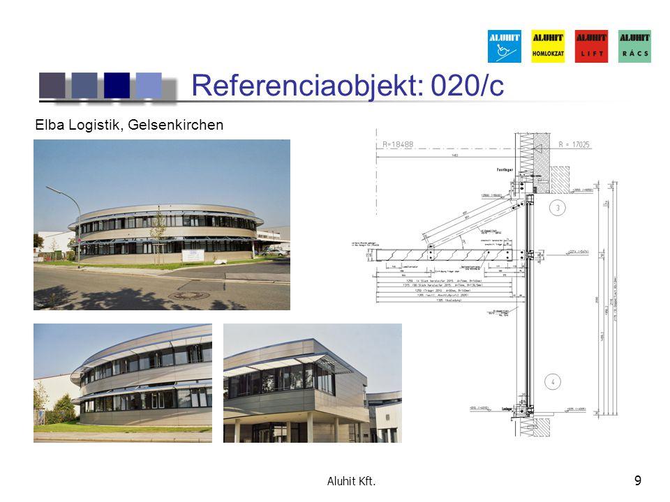 Aluhit Kft. 9 Referenciaobjekt: 020/c Elba Logistik, Gelsenkirchen
