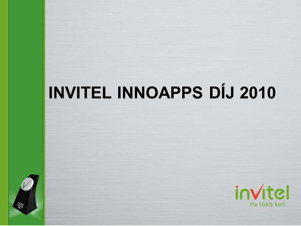 INVITEL INNOAPPS DÍJ 2010