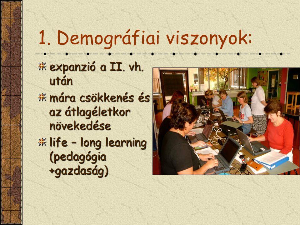 1.Demográfiai viszonyok: expanzió a II. vh.