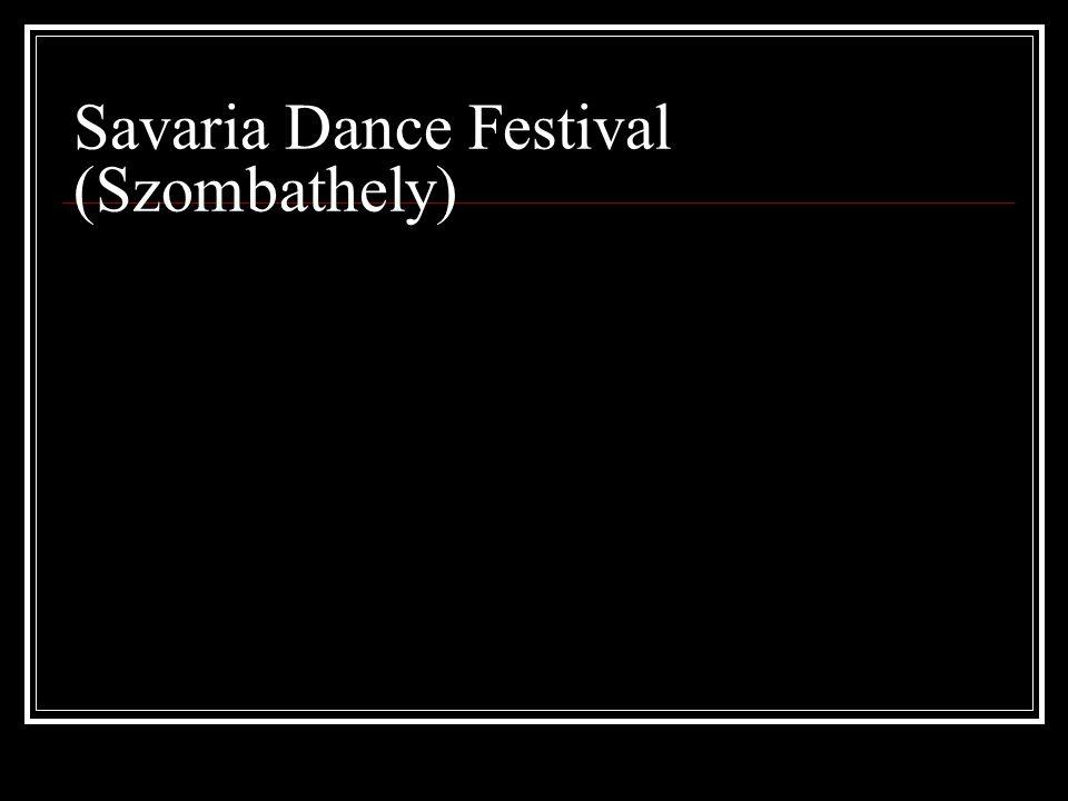 Savaria Dance Festival (Szombathely)