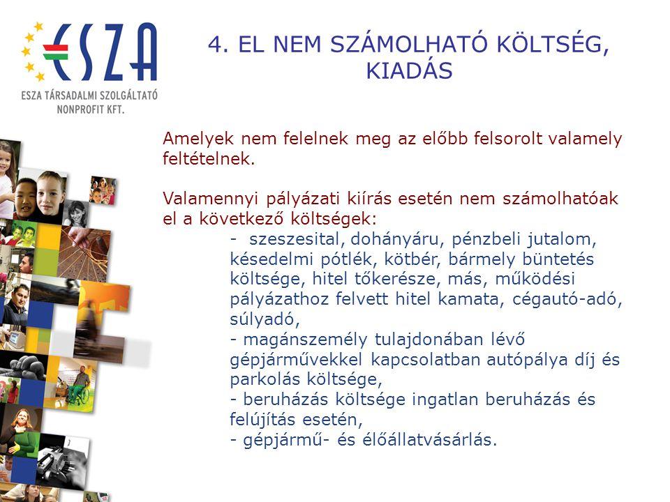 PÉNZÜGYI ELSZÁMOLÁS EGYES KÖLTSÉGEKRE, KÖLTSÉGVETÉSI ALSOROKRA VONATKOZÓ ELSZÁMOLÁSI SZABÁLYOK
