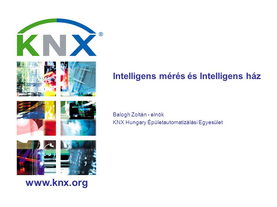 Smart Metering and KNX Mr.Joost Demarest Page No.