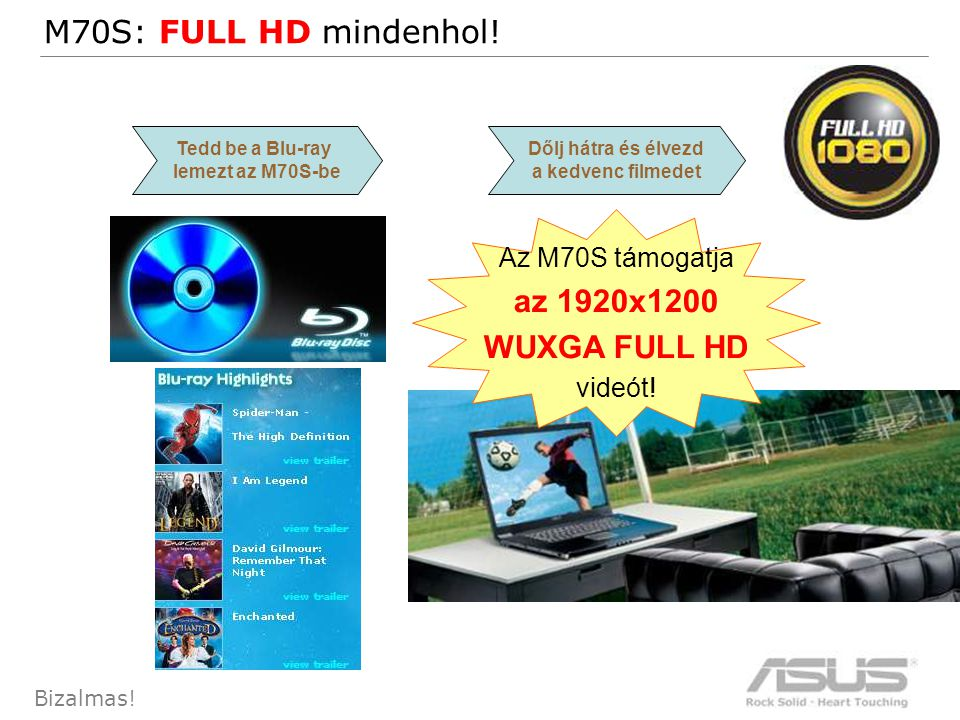 37 Bizalmas.M70S: FULL HD mindenhol.