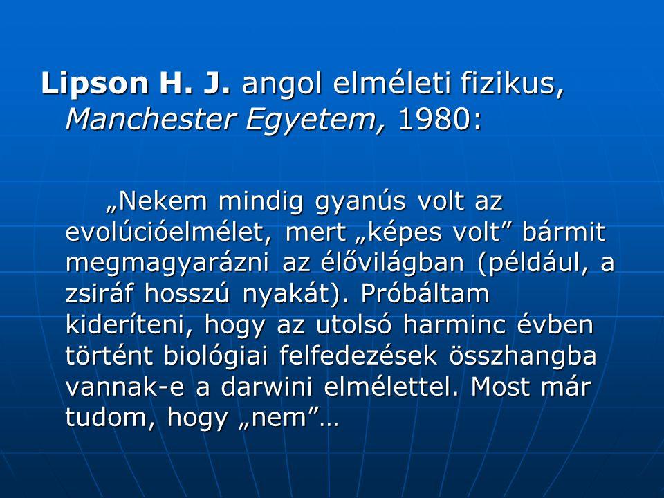Lipson H.J.