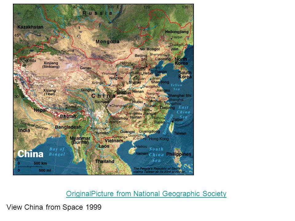 Terület Kína: 9,596,960 km 2 Makaó: 28 km 2 Hong Kong: 1,092 km 2 Tajvan: 35,980 km 2 Lakosság (2006.