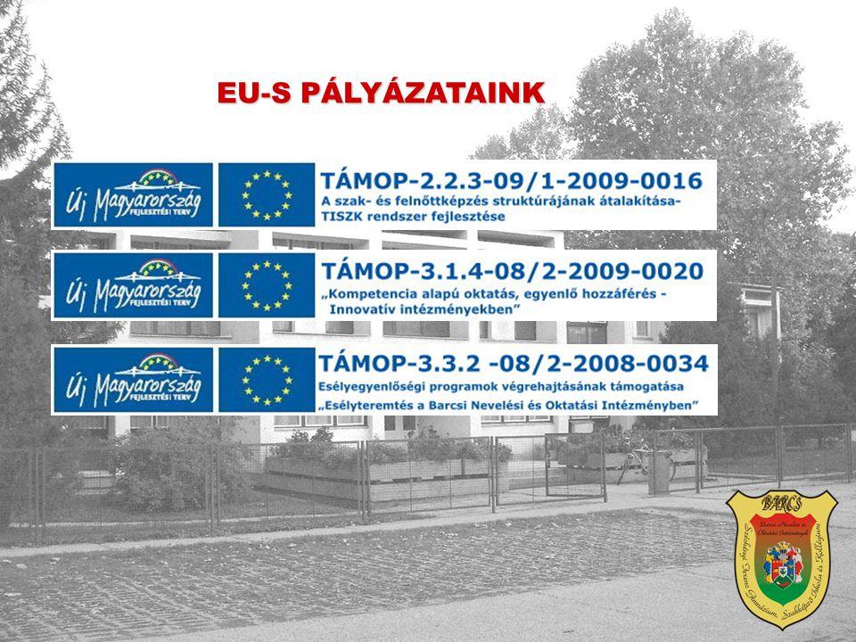 EU-S PÁLYÁZATAINK