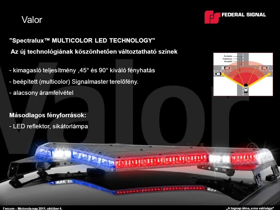 """Fercom – Motorola nap 2011. október 4. """"A tegnap álma, a ma valósága Vision SLR"""