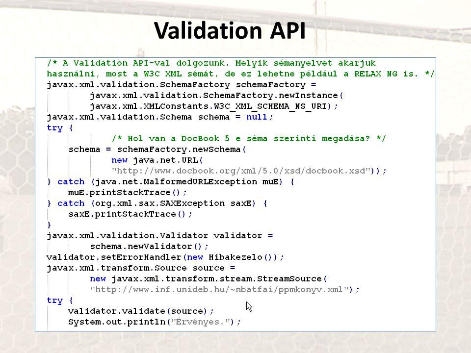 Validation API