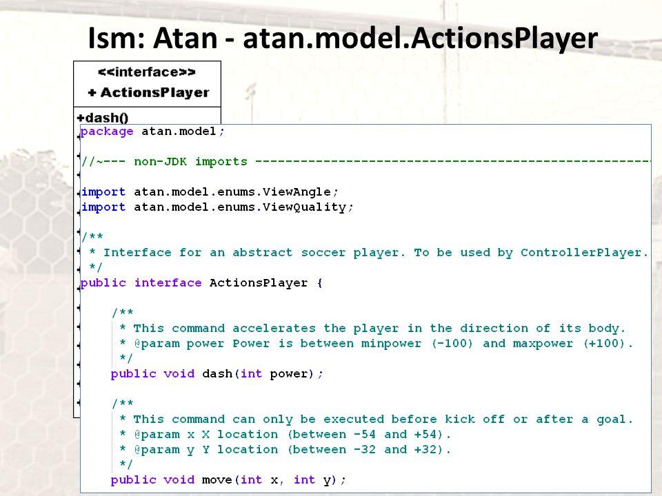 Ism: Atan - atan.model.ActionsPlayer