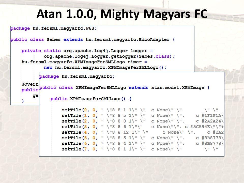Atan 1.0.0, Mighty Magyars FC