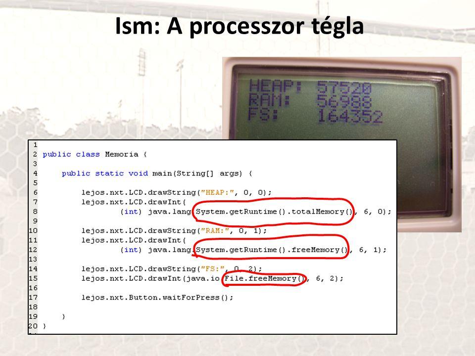 Ism: A processzor tégla