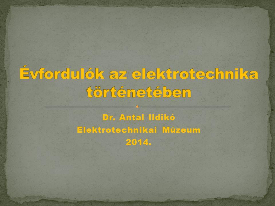  Gustav Kirchoff (1874 – 1862)  Az elektromos hálózatok törvényszerűségei: - Kirchoff-törvények (1845) 