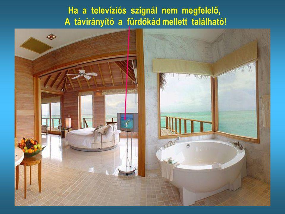 Reméljük a bungaló berendezésével elégedettek lesznek...