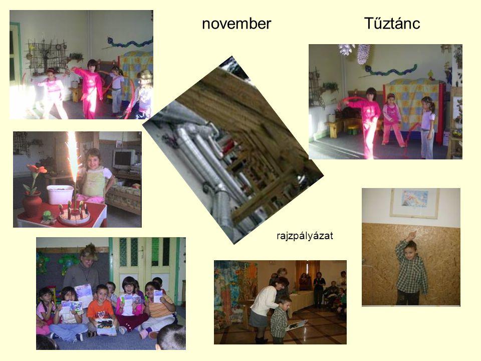 novemberTűztánc rajzpályázat