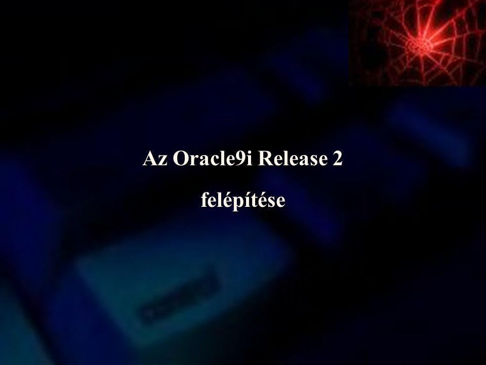 Az Oracle9i Release 2 felépítése