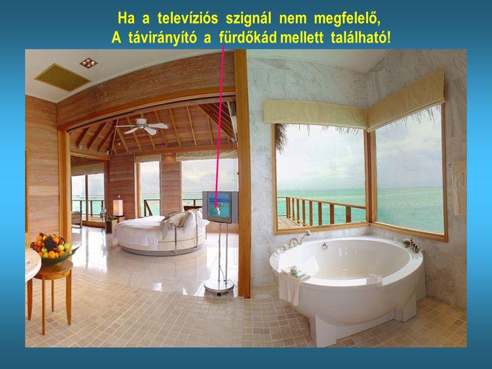 Reméljük a bungaló berendezésével elégedettek lesznek!
