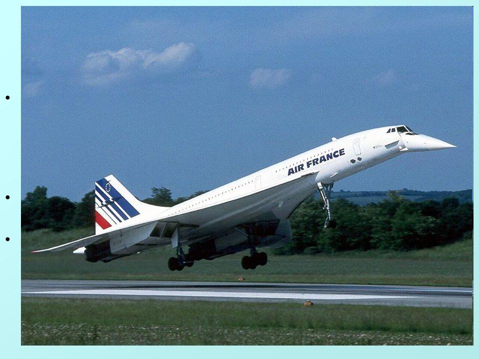 8 2. feladat •A concorde francia utaszállító repülőgép felszállási sebessége 360km/h. (Ez egyébként nem a gép tényleges sebességét jelenti, hanem a gé