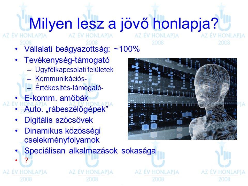 """Köszönöm a figyelmüket! """"Legyen jó a honlapjuk és sikeres a holnapjuk! istvan.varga@manta.hu"""