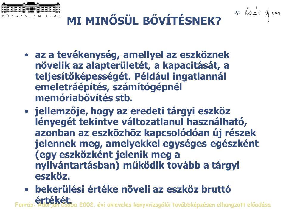 © MI MINŐSÜL BŐVÍTÉSNEK.