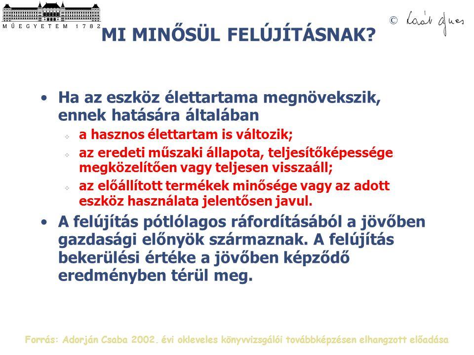 © MI MINŐSÜL FELÚJÍTÁSNAK.