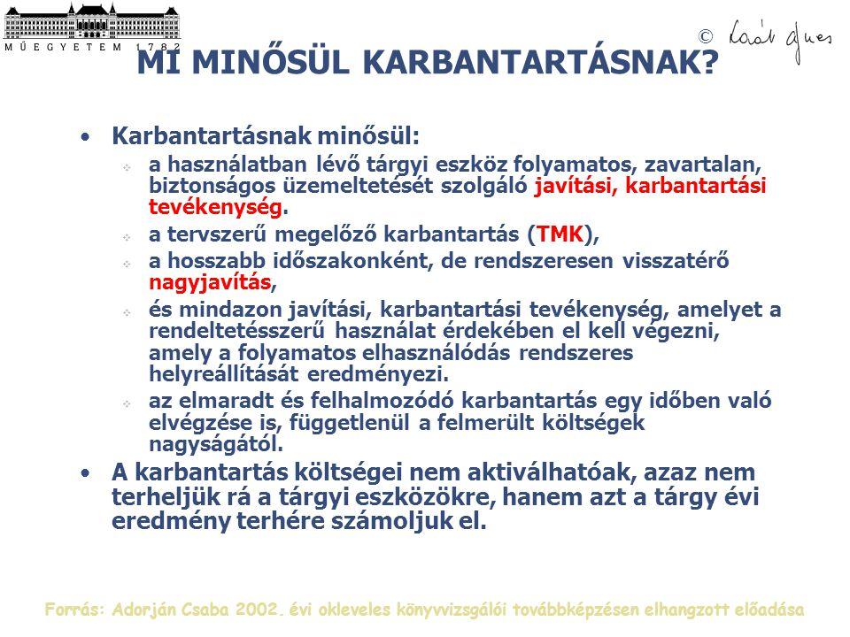 © MI MINŐSÜL KARBANTARTÁSNAK.