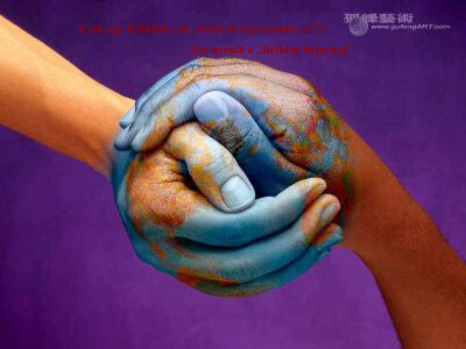 """Csak egy Földünk van, közösen vigyázzunk rá!!!!! Ezt üzenik a """"Bethlen bajnokai"""