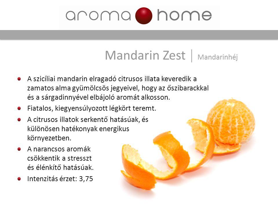 A szicíliai mandarin elragadó citrusos illata keveredik a zamatos alma gyümölcsös jegyeivel, hogy az őszibarackkal és a sárgadinnyével elbájoló aromát