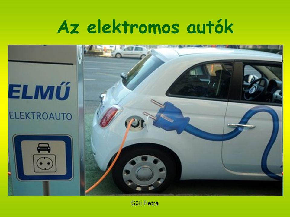 Süli Petra Az elektromos autók