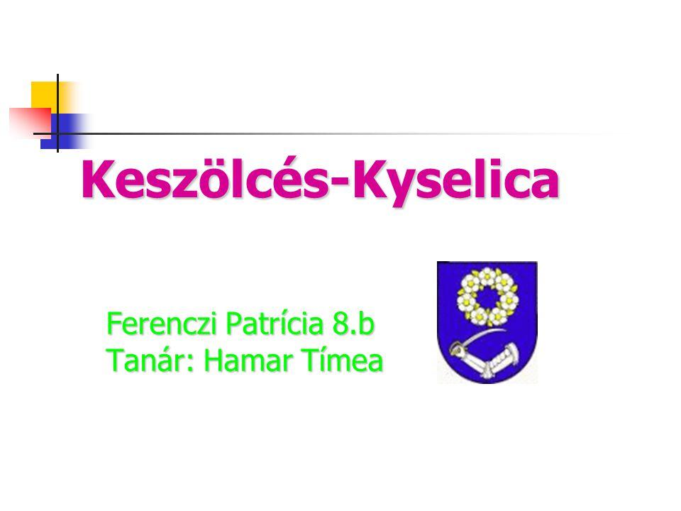Keszölcés-Kyselica Ferenczi Patrícia 8.b Tanár: Hamar Tímea