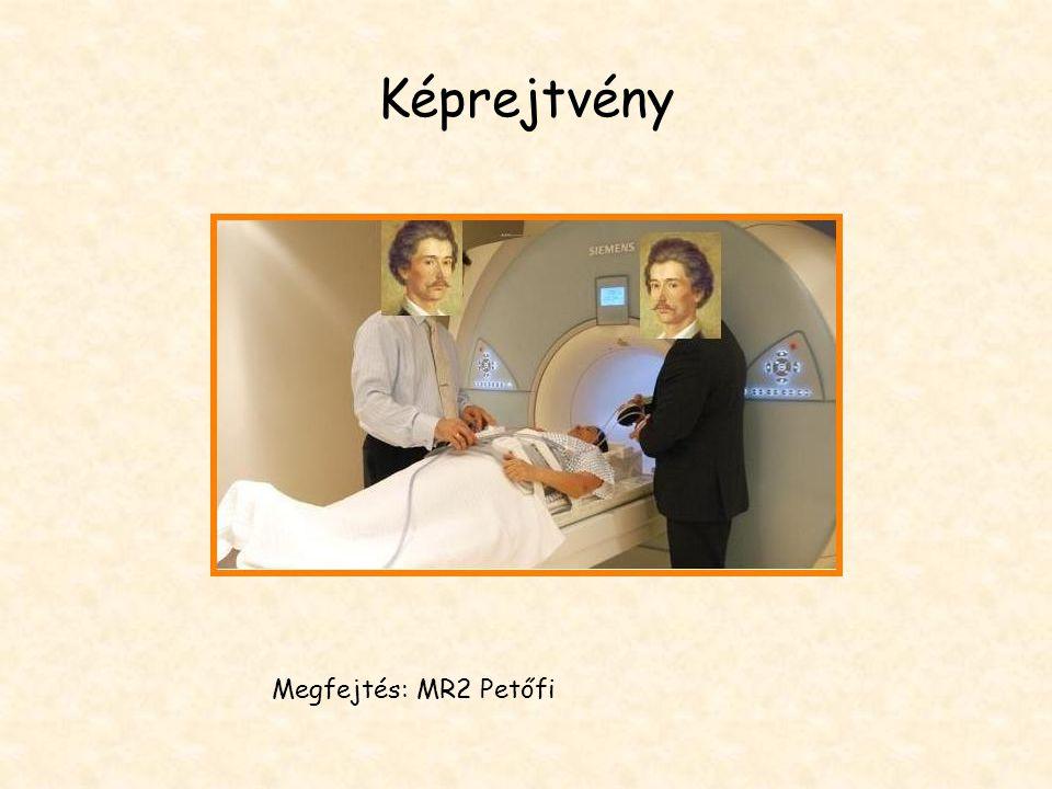 Képrejtvény Megfejtés: MR2 Petőfi