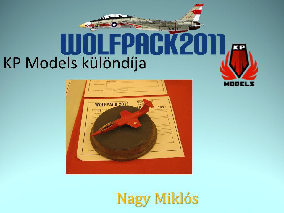 KP Models különdíja Nagy Miklós