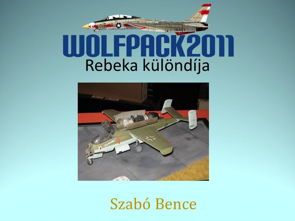 Rebeka különdíja Szabó Bence
