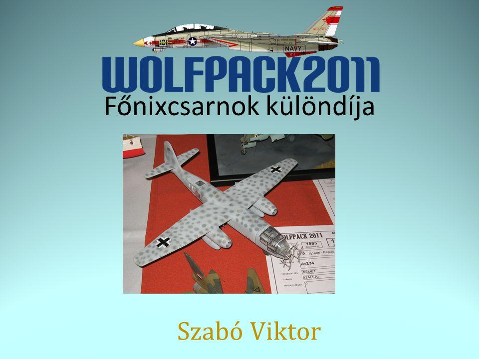 Főnixcsarnok különdíja Szabó Viktor