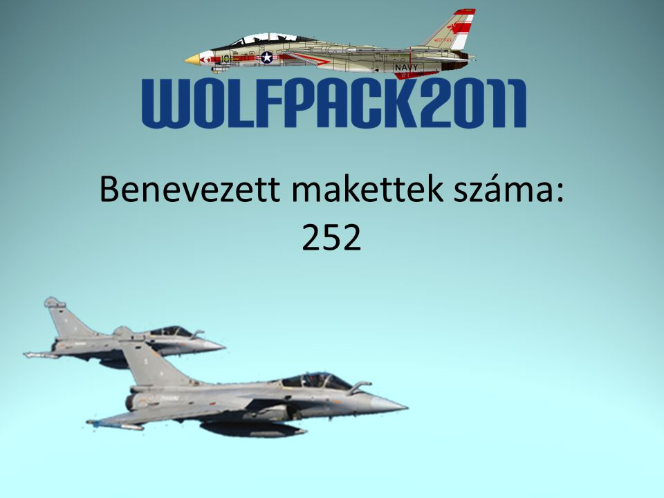 F01 – Repülő 1/72 Propeller Ezüst érem: Tóth Tivadar