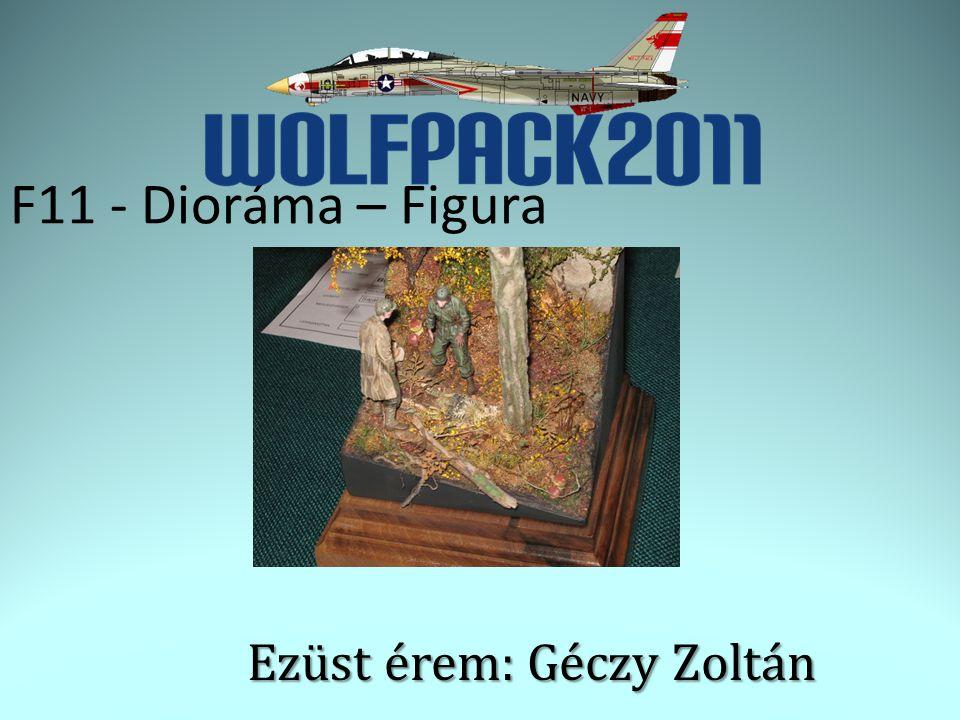 F11 - Dioráma – Figura Ezüst érem: Géczy Zoltán