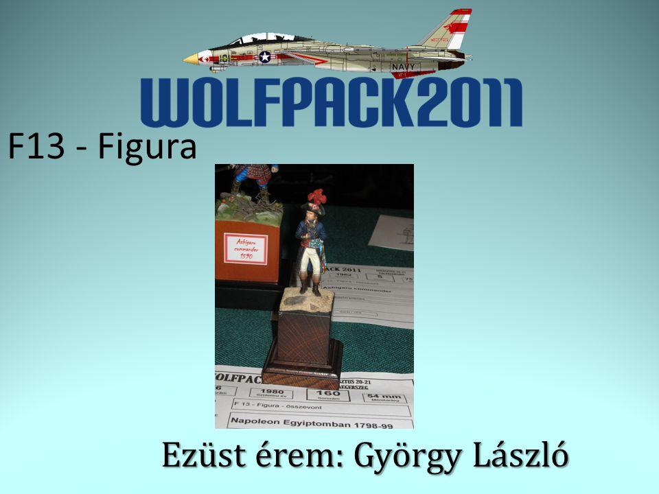 F13 - Figura Ezüst érem: György László