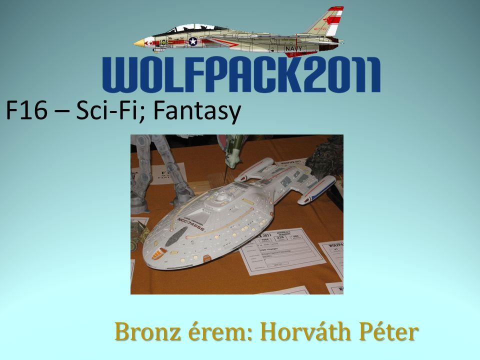 F16 – Sci-Fi; Fantasy Bronz érem: Horváth Péter