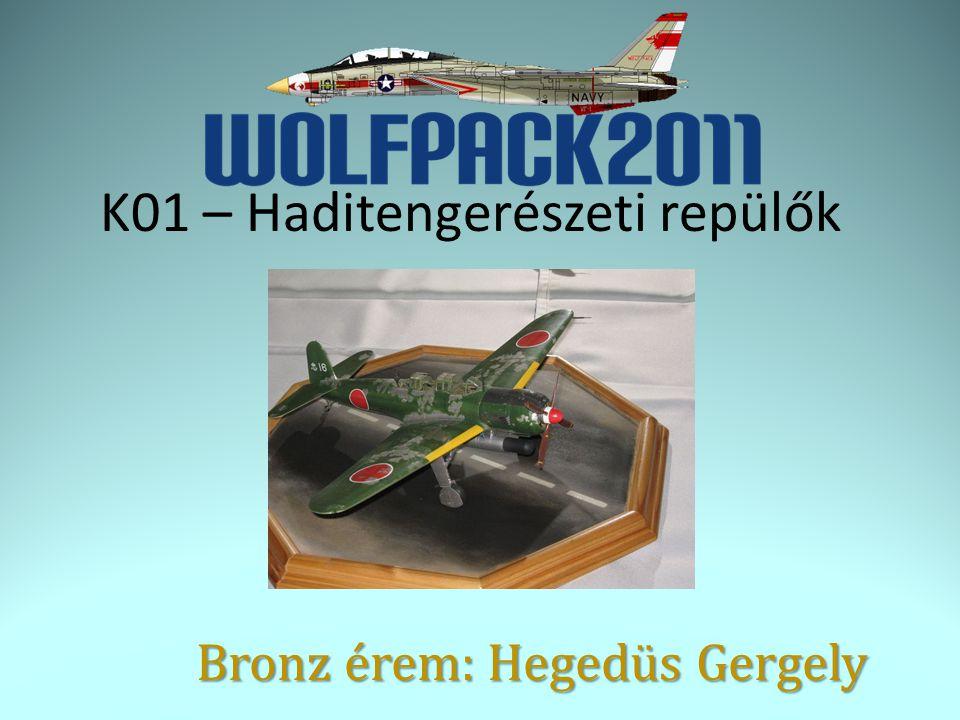 K01 – Haditengerészeti repülők Bronz érem: Hegedüs Gergely