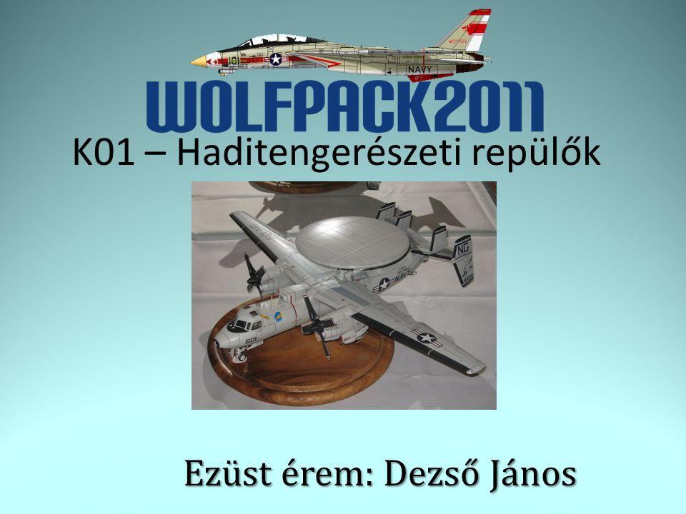Ezüst érem: Dezső János K01 – Haditengerészeti repülők